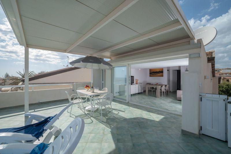 Vista dal terrazzo Affitto Appartamento 119624 Marina di Ragusa