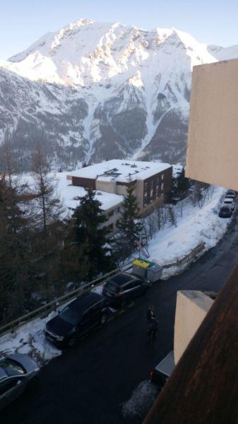 Vista dalla casa vacanze Affitto Monolocale 65005 Orcières Merlette