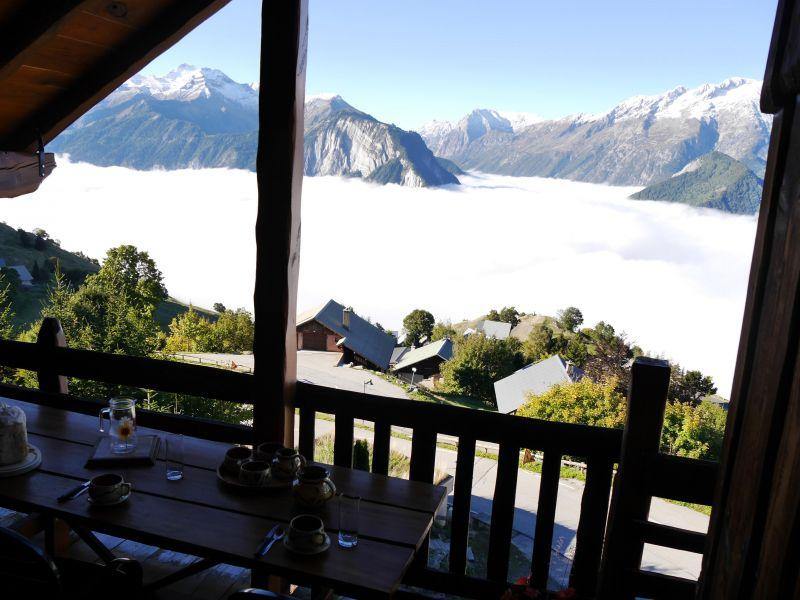 Vista dal balcone Affitto Appartamento 67048 Alpe d'Huez