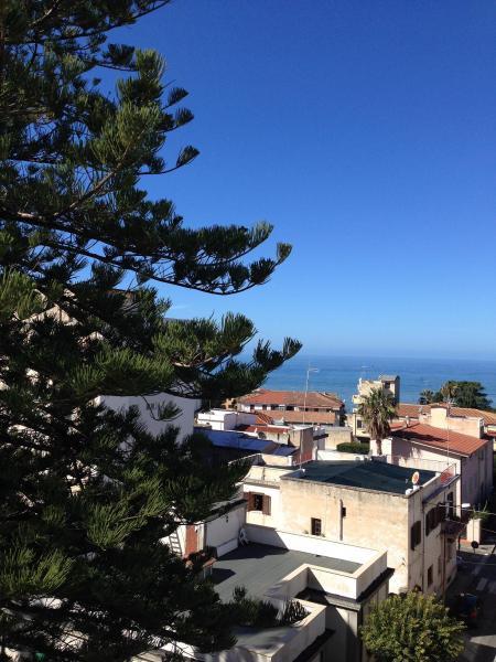 Vista dal balcone Affitto Appartamento 72629 Tropea