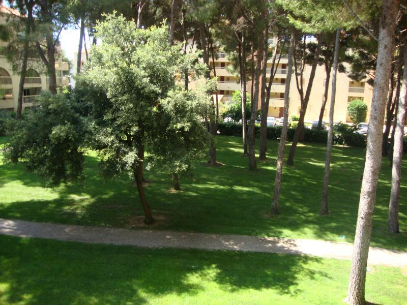 Vista dal terrazzo Affitto Appartamento 73282 Sanary