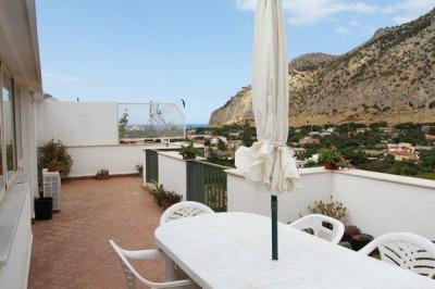 Vista dal terrazzo Affitto Appartamento 73862 Palermo