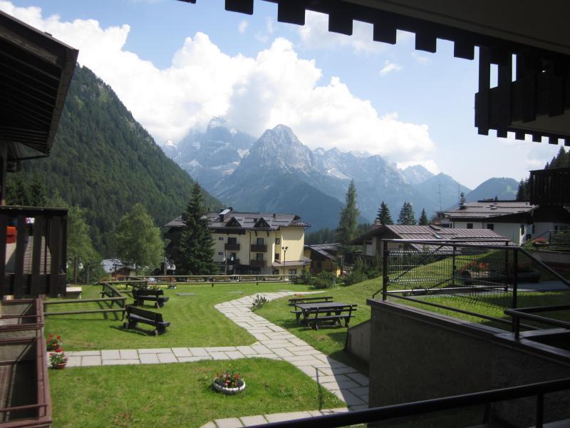 Vista dal balcone Affitto Appartamento 79472 Madonna di Campiglio