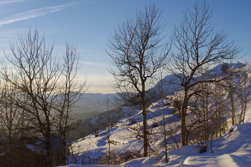 Vista dalla casa vacanze Affitto Agriturismo 81230 Orcières Merlette