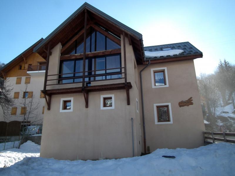 Vista esterna della casa vacanze Affitto Chalet 81297 Valloire