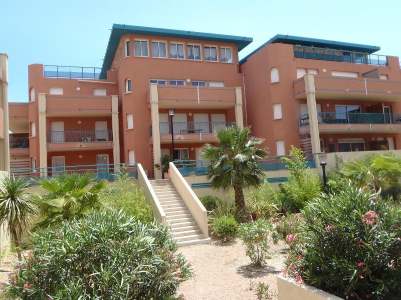 Vista esterna della casa vacanze Affitto Appartamento 82380 Porto Vecchio