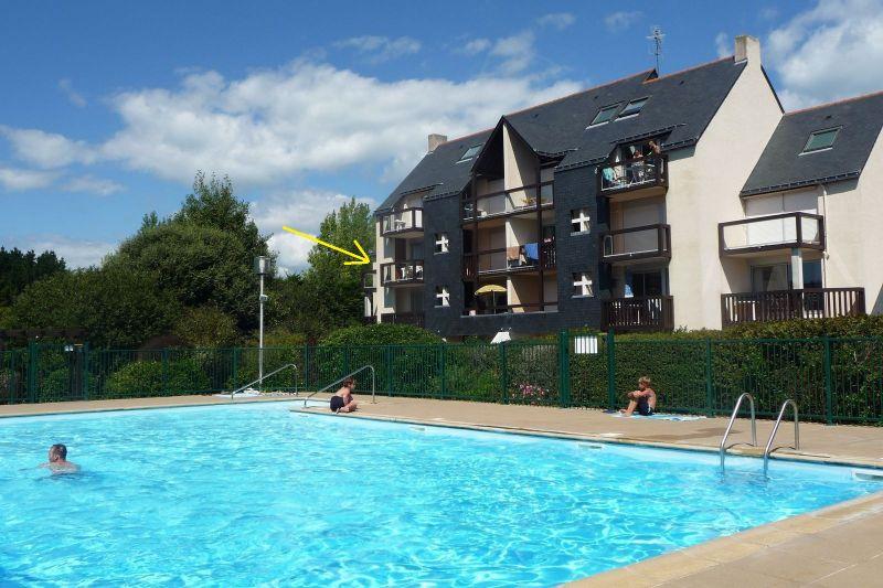 Vista esterna della casa vacanze Affitto Monolocale 84047 Quiberon