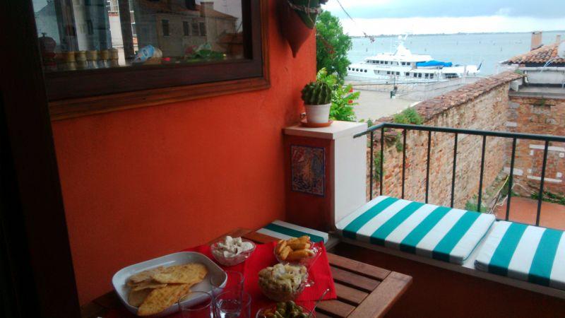 Vista dal terrazzo Affitto Appartamento 86011 Venezia