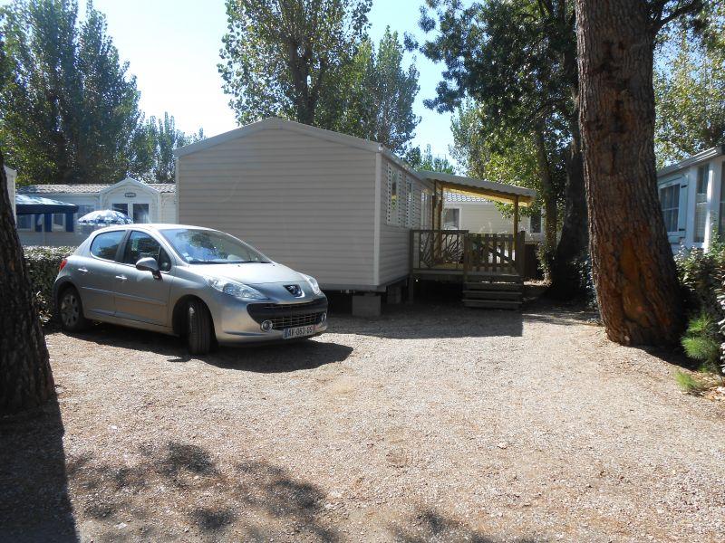 Vista esterna della casa vacanze Affitto Casa mobile 90517 Vias Plage