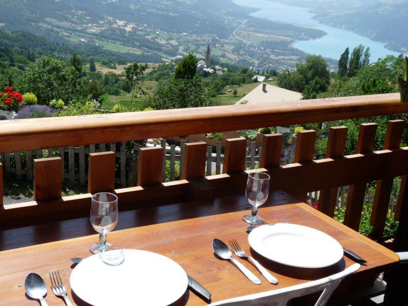 Vista dal balcone Affitto Agriturismo 91236 Les Orres