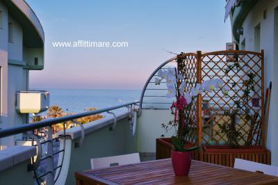 Vista dal terrazzo Affitto Appartamento 95692 Tortoreto