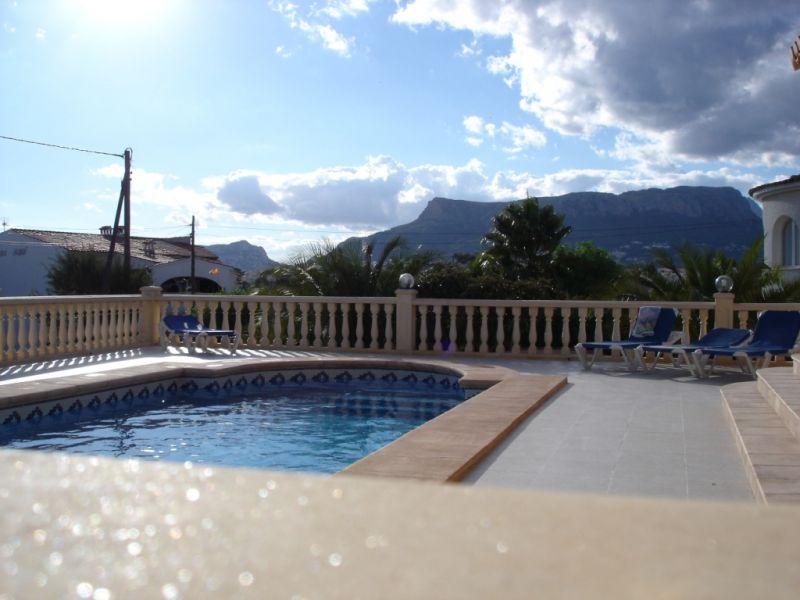 Vista dal terrazzo Affitto Villa  111838 Calpe