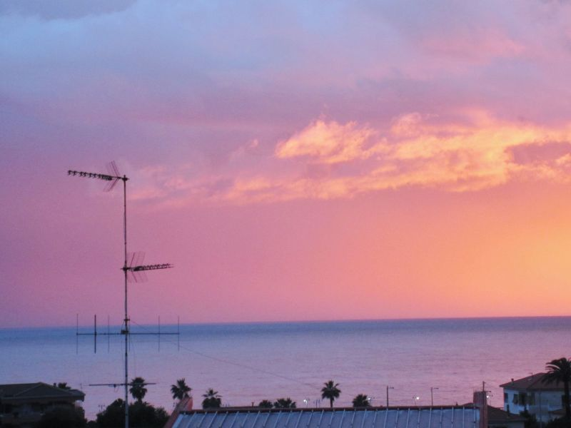 Vista dal balcone Affitto Appartamento 117780 Vallecrosia