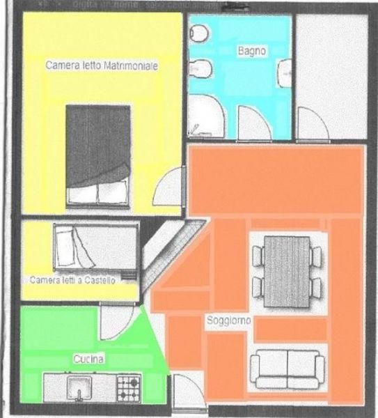 Mappa Affitto Appartamento 120018 Camigliatello silano