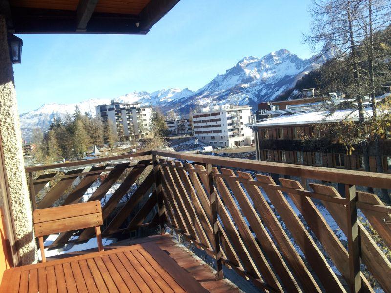 Vista dal balcone Affitto Appartamento 80160 Pra Loup