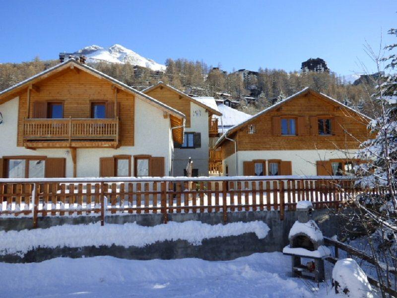 Vista esterna della casa vacanze Affitto Chalet 93997 Les Orres