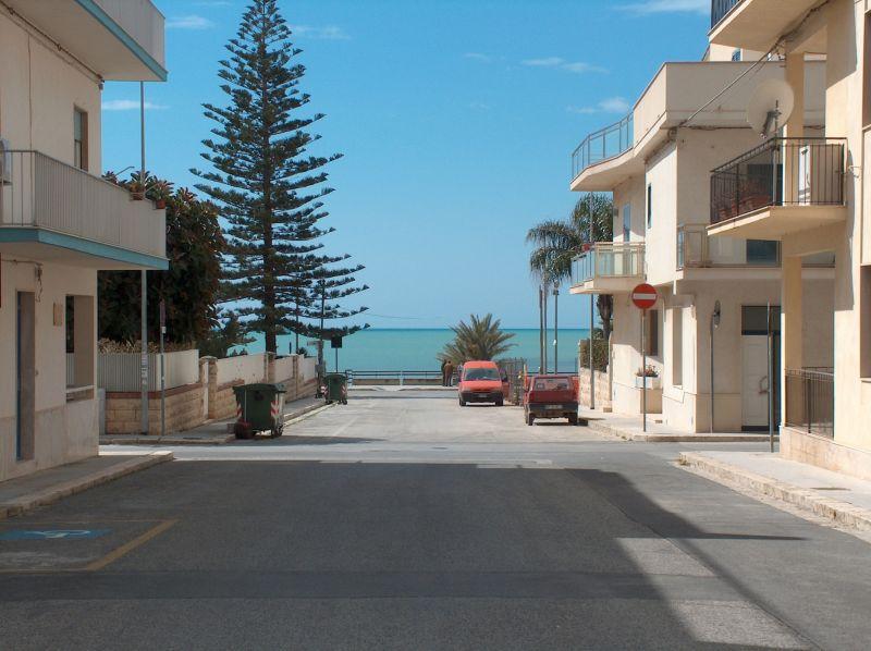 Vista dalla casa vacanze Affitto Appartamento 94320 Marina di Ragusa