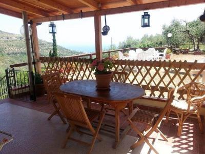 Vista dal terrazzo Affitto Appartamento 99888 Santo Stefano al Mare