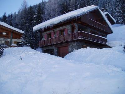 Vista esterna della casa vacanze Affitto Chalet 100850 Valfr�jus