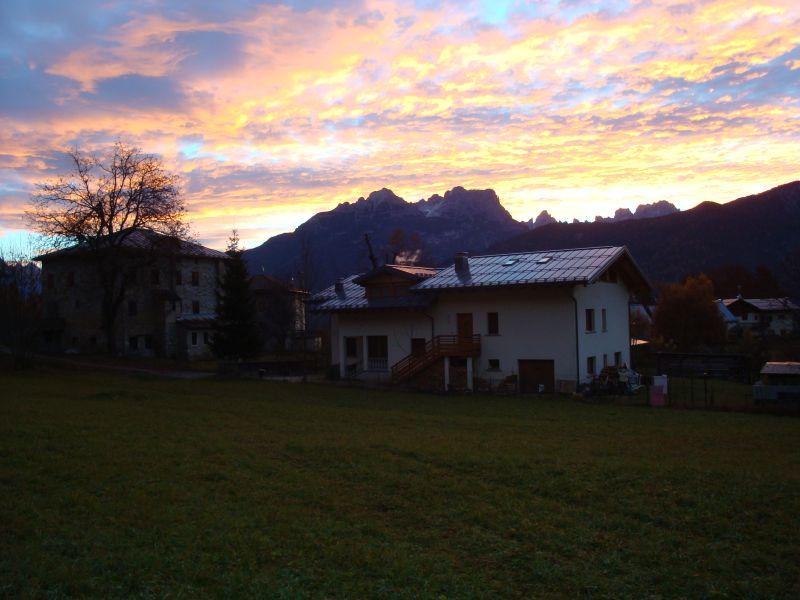 Vista esterna della casa vacanze Affitto Appartamento 105108 Cortina d'Ampezzo