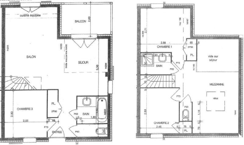 Pianta casa vacanze Affitto Appartamento 111117 Les Saisies