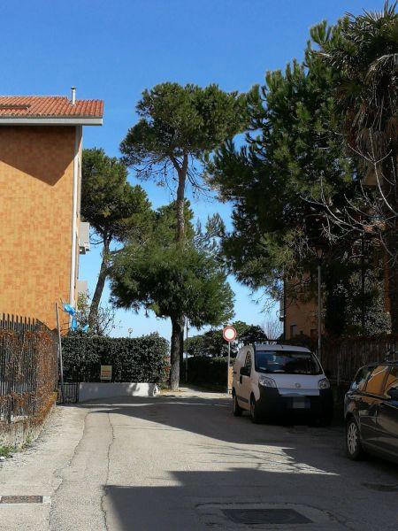 Vista dalla casa vacanze Affitto Appartamento 112327 Pineto