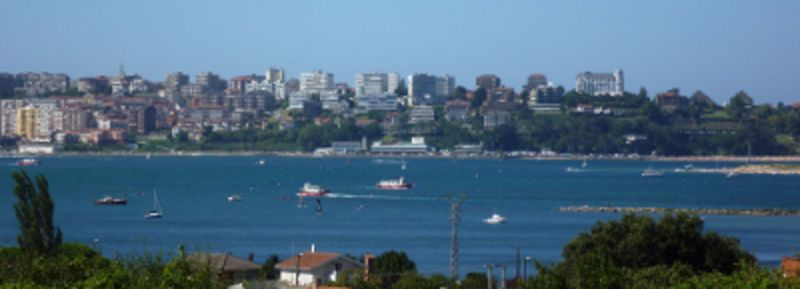 Vista dal balcone Affitto Agriturismo 113418 Santander