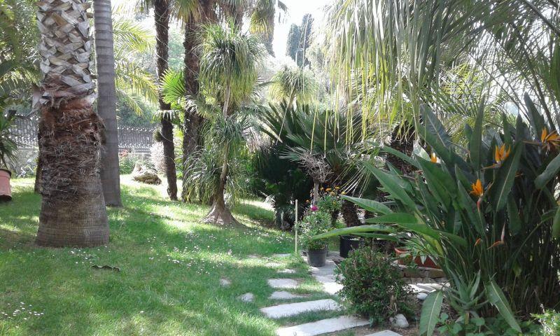 Giardino Affitto Appartamento 115816 Bordighera