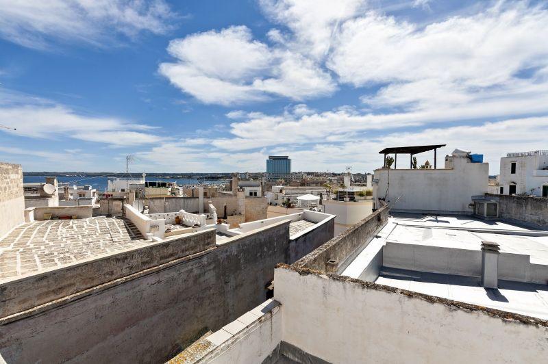 Vista dal terrazzo Affitto Appartamento 116172 Gallipoli