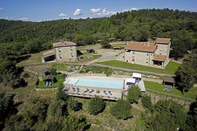 Vista esterna della casa vacanze Affitto Casa 117258 Siena