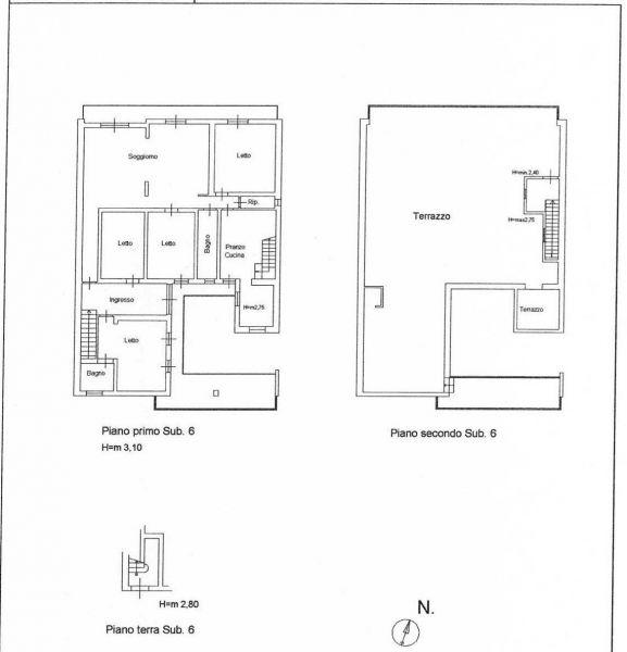 Mappa Affitto Appartamento 119747 Marina di Ragusa