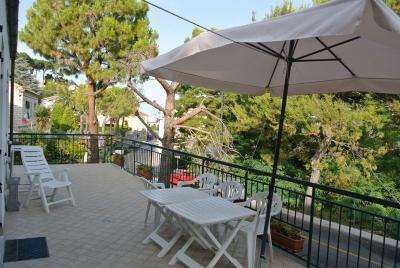 Vista dal terrazzo Affitto Appartamento 71300 Numana