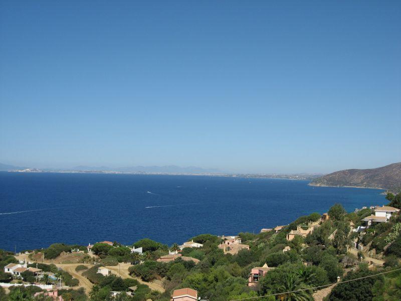 Vista dal terrazzo Affitto Villa  74805 Torre delle Stelle