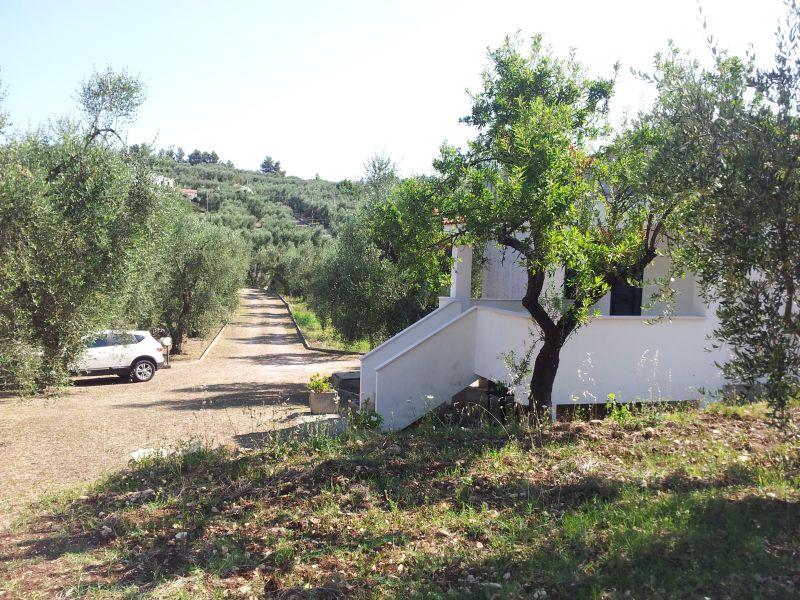 Vista esterna della casa vacanze Affitto Appartamento 76391 Vieste