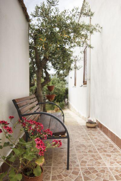 Vista esterna della casa vacanze Affitto Appartamento 76816 Scopello
