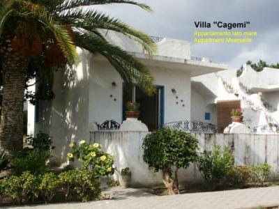 Vista esterna della casa vacanze Affitto Villa  78060 Oliveri