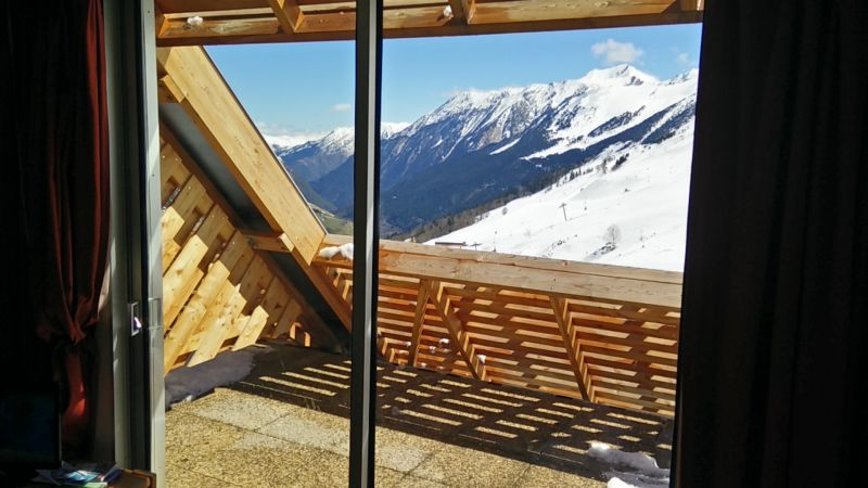 Vista dal balcone Affitto Monolocale 80079 Piau Engaly