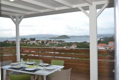 Vista dalla casa vacanze Affitto Villa  91186 Trois Ilets