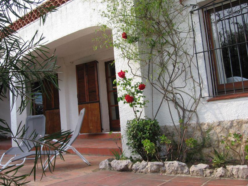 Vista dal terrazzo Affitto Villa  92322 Rosas