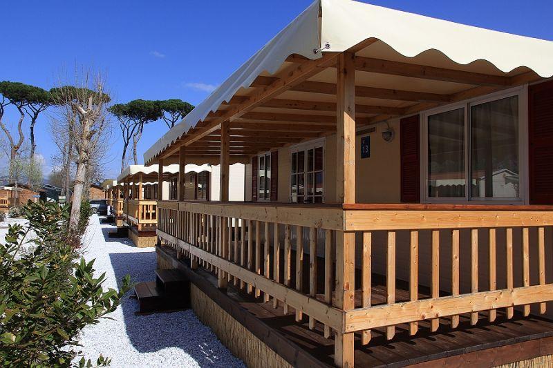 Vista esterna della casa vacanze Affitto Casa mobile 93402 Viareggio