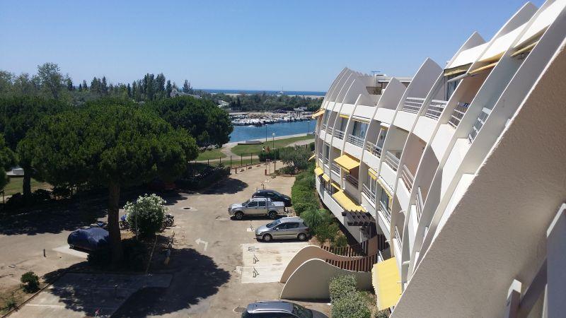Vista dal balcone Affitto Appartamento 104513 Le Grau du Roi