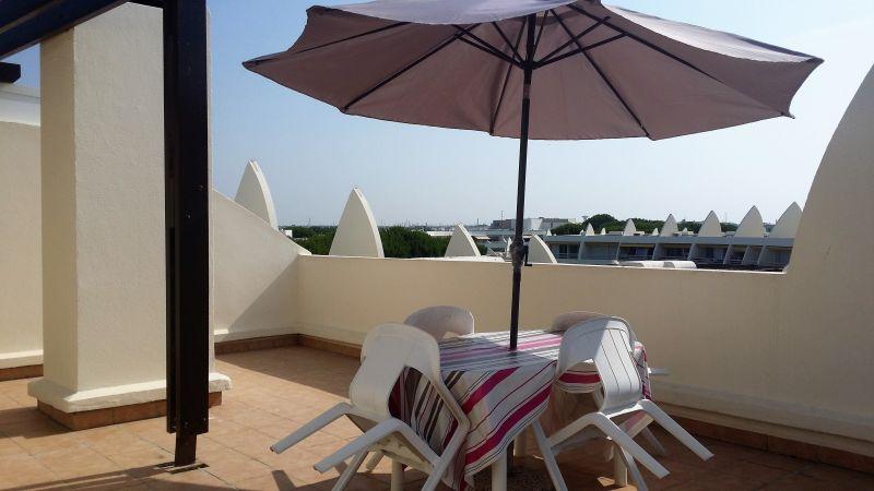 Vista dal terrazzo Affitto Appartamento 104513 Le Grau du Roi