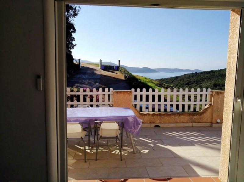Vista dal terrazzo Affitto Casa 108002 Porticcio