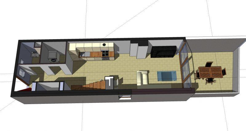 Pianta casa vacanze Affitto Appartamento 110536 Thonon Les Bains