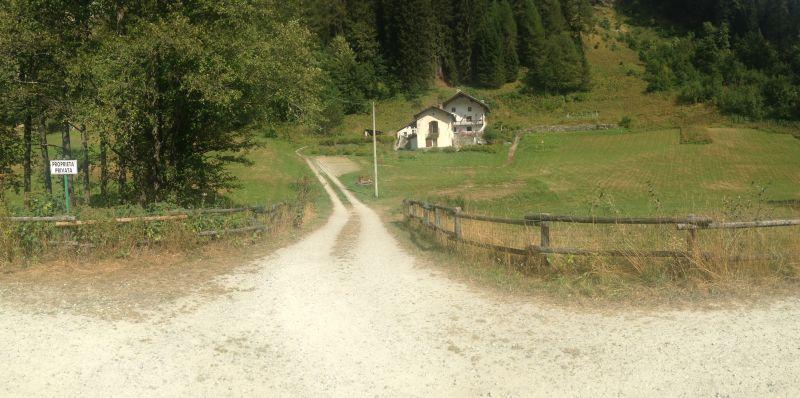 Vista esterna della casa vacanze Affitto Chalet 111344 Gressoney Saint Jean