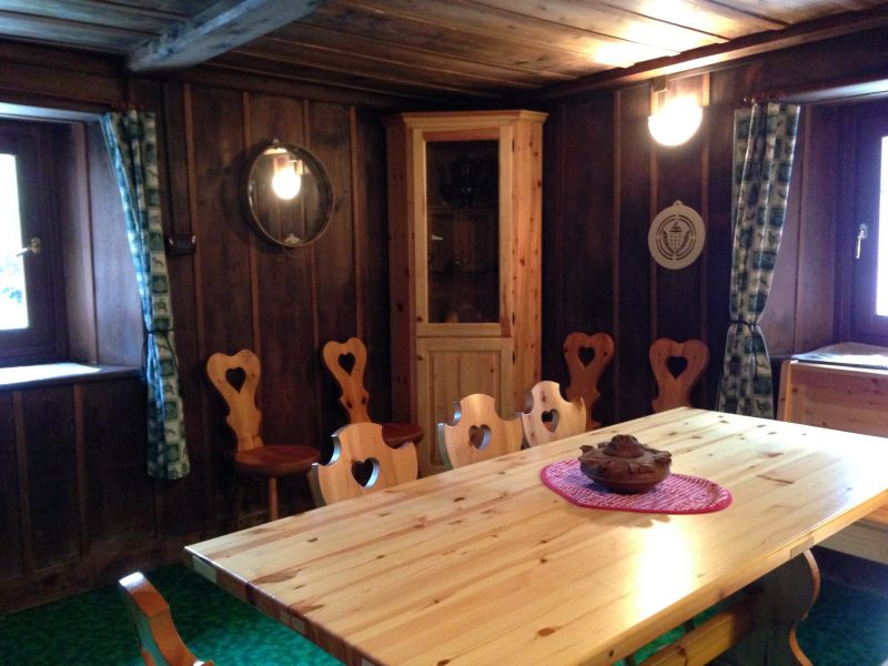 Sala da pranzo Affitto Chalet 111344 Gressoney Saint Jean