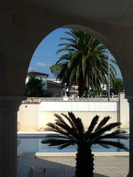 Vista dal terrazzo Affitto Villa  112660 Empuriabrava