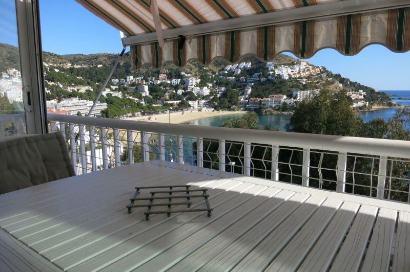 Vista dal terrazzo Affitto Appartamento 116004 Rosas