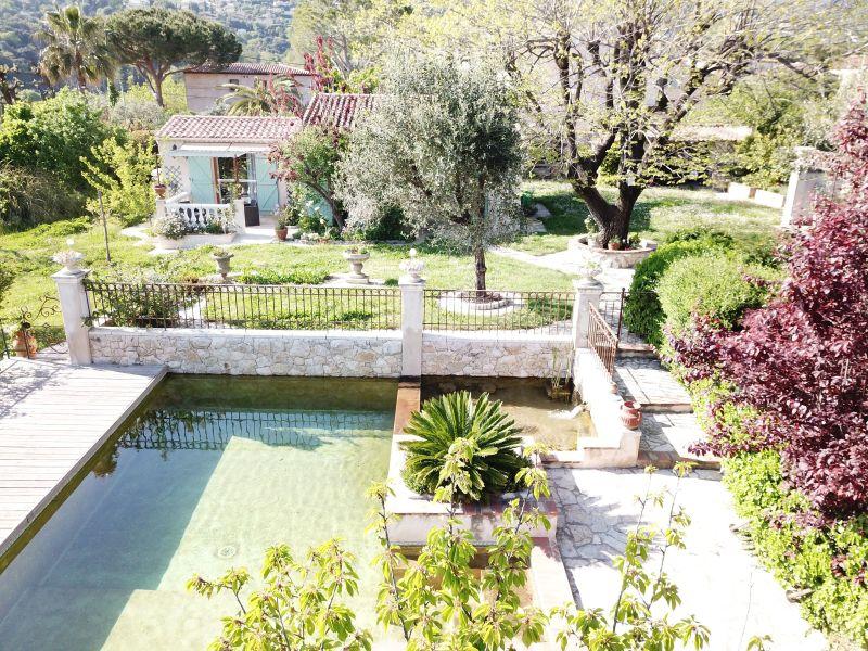 Vista esterna della casa vacanze Affitto Agriturismo 119365 Vence