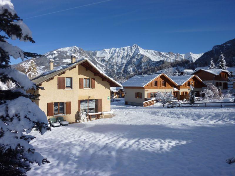 Vista esterna della casa vacanze Affitto Chalet 65856 Les Orres